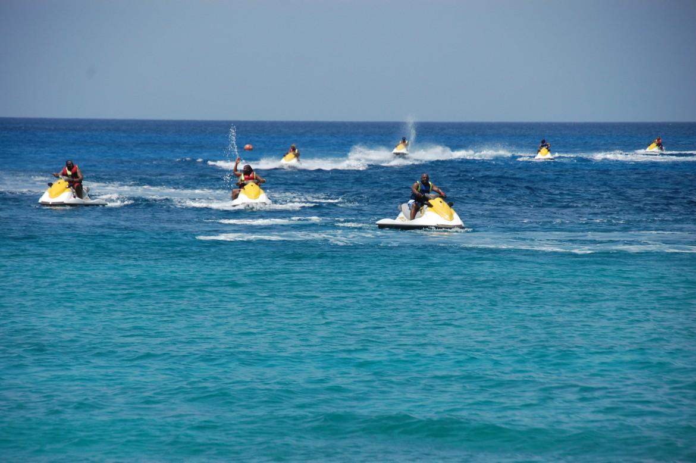 7 Mile Beach Waverunner Snorkel Experience